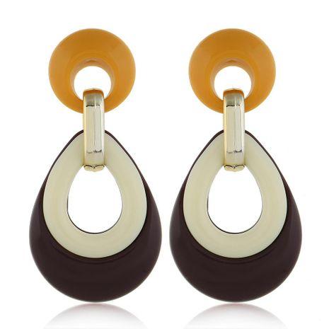 Womens teardrop plating alloy Earrings NHVA124872's discount tags
