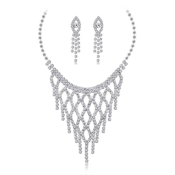 Simple long exquisite necklace Jewelry Sets NHDR124873