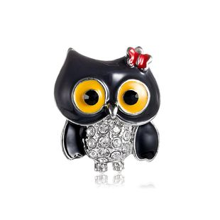 Female animal drip alloy animal Brooches NHDR124879's discount tags