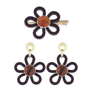Womens Floral Plating Alloy Hair Accessories NHVA124892's discount tags