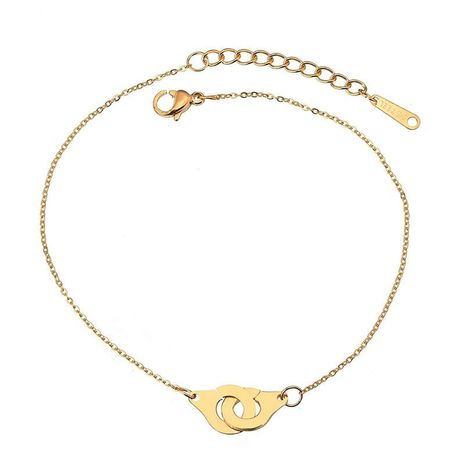Womens geometric plating stainless steel stainless steel Bracelets & Bangles NHHF124897's discount tags