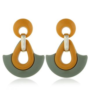 Womens teardrop plating alloy Earrings NHVA124910's discount tags