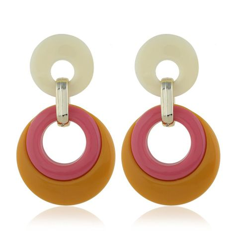 Womens teardrop plating alloy Earrings NHVA124911's discount tags