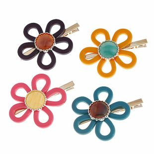Womens Floral Plating Alloy Hair Accessories NHVA124912's discount tags