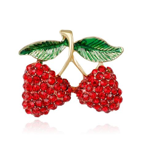 Womens Fruit Plating Alloy Other Brooches NHDR124928's discount tags