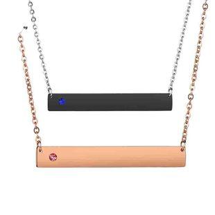 Collares de acero inoxidable galvanizado unisex NHHF124931's discount tags