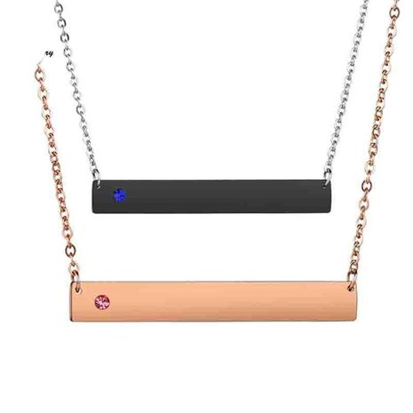 Unisex Geometry Electroplated Stainless Steel Necklaces NHHF124931's discount tags