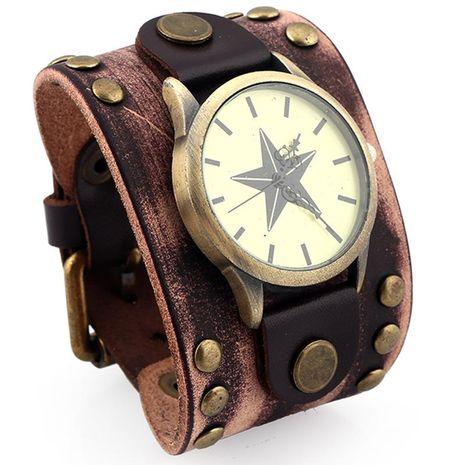 Mens Geometric Vintage Leather Bracelets & Bangles NHPK124937's discount tags