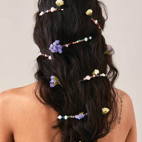 Womens Geometric Software Hair Accessories NHJJ124946's discount tags