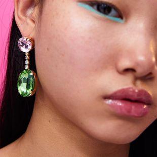 Womens Geometric Acrylic Earrings NHJE124964's discount tags