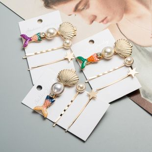 Womens Fishtail Beads Resin Hair Accessories NHJE124975's discount tags