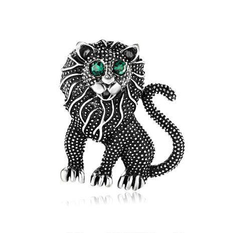 Galjanoplastia para mujer Animal exagerada león Aleación broches DR190505120132's discount tags