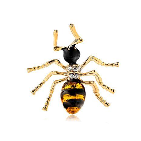 Broches de aleación de diamantes de chapado de animales para mujer DR190505120137's discount tags