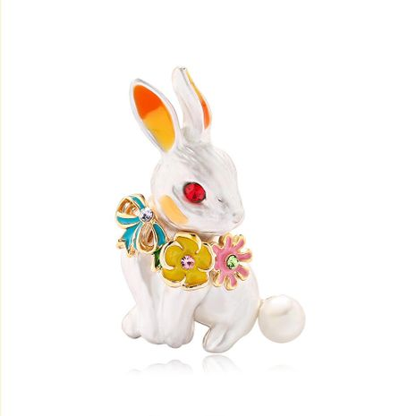 Womens Animal Drip Cute personality drip rabbit  Alloy Brooches DR190505120189's discount tags