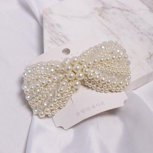 Womens Bow Set Beads Beads Hair Accessories JJ190505120190's discount tags