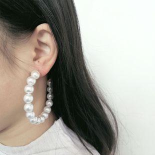 Womens Geometric Temperament fashion Beads Earrings JJ190505120192's discount tags