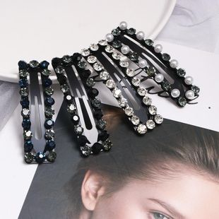 Womens Bow Set with Beads Imitated crystal Hair Accessories JJ190505120196's discount tags