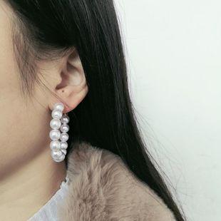 Womens Geometric  Temperament fashion Beads Earrings JJ190505120199's discount tags