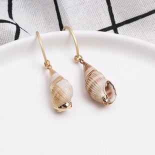 Womens Shell Fashionable shellfish  Seashell Earrings JJ190505120203's discount tags