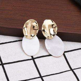 Womens Shell Fashion  Seashell Earrings JJ190505120207's discount tags