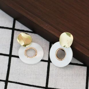 Womens Shell Fashionable shellfish  Seashell Earrings JJ190505120216's discount tags