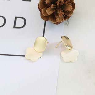 Womens Shell Fashionable shellfish Seashell Earrings JJ190505120217's discount tags