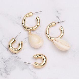 Womens Shell  Geometric ocean wind Seashell Earrings JJ190505120213's discount tags