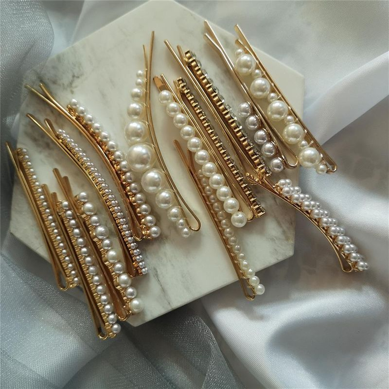 Womens Geometric Beads Beads Hair Accessories JJ190505120253