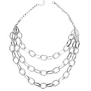 Womens teardropshaped plated aluminum Necklaces CT190505120147