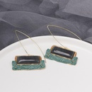 Womens Geometry Electroplating Palace wind is old  Alloy  Earrings JJ190505120205