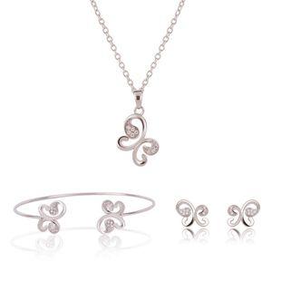 Womens rhinestone-studded alloy Jewelry Set XS190506120375's discount tags