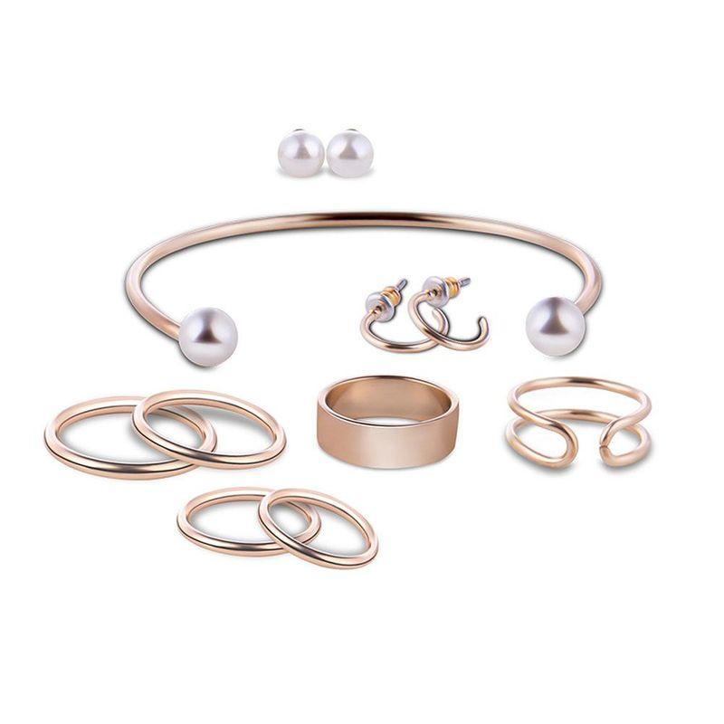 Womens rhinestone alloy Fashion jewelry set XS190506120381