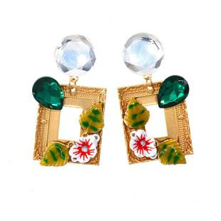 Womens Star Plating Alloy Earrings NT190506120400's discount tags