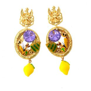 Womens Animal / Zodiac Plating Alloy Earrings NT190506120402's discount tags
