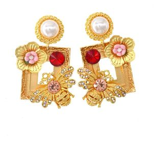 Womens Insect Plating Alloy Earrings NT190506120403's discount tags