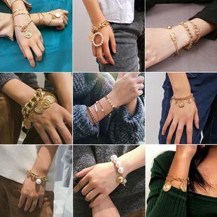 Womens geometric plating alloy Bracelets & Bangles XR190506120409's discount tags