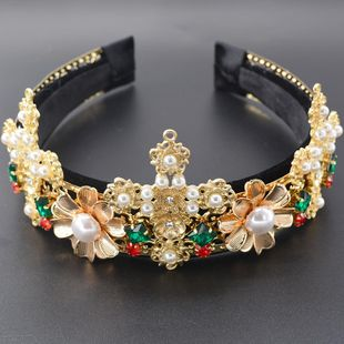 Womens Crown Plating Alloy Hair Accessories NT190506120410's discount tags