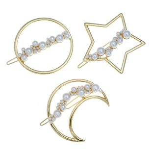 Womens geometric plating alloy Hair Accessories VA190506120460's discount tags