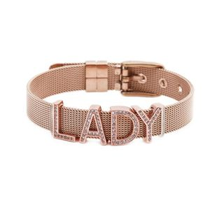 Unisex letters numbers text titanium steel Bracelets & Bangles YL190506120494's discount tags