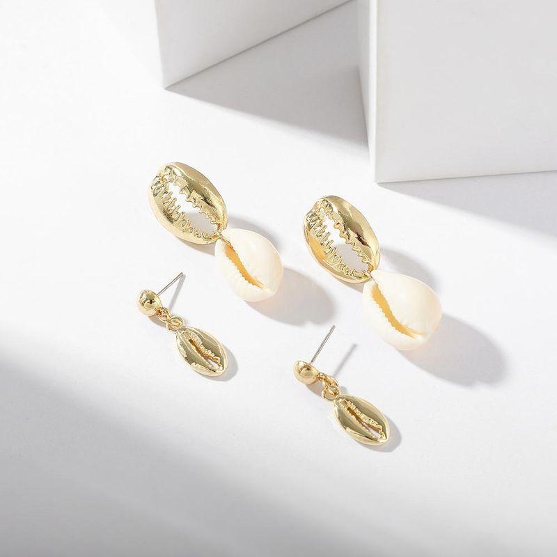 Womens Shell Creative ocean wind alloy  Alloy Earrings NHLL120578
