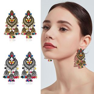 Womens Star Rhinestone Alloy Earrings NHKQ120684's discount tags
