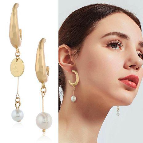 Womens Geometric Rhinestone Alloy Earrings NHKQ120688's discount tags