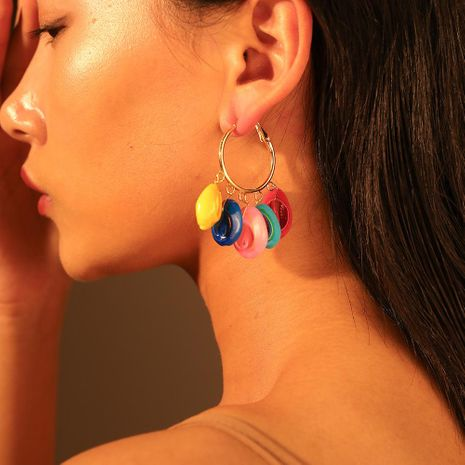 Womens Shell Alloy   Shell Earrings NHMD120706's discount tags