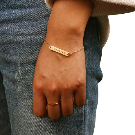 Womens geometric plating alloy magnesium pedicure Bracelets & Bangles NHMD120723's discount tags