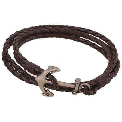 Unisex geometric artificial leather Bracelets & Bangles NHPK120781's discount tags