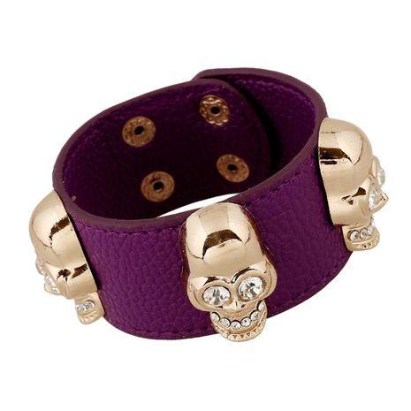 Unisex geometric artificial leather Bracelets & Bangles NHPK120783's discount tags
