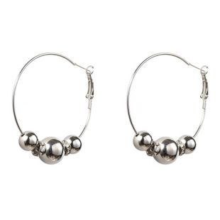Womens Round Alloy Earrings NHGO125098's discount tags