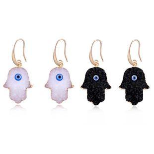 Womens Geometric Plastic / Resin Earrings NHGO125101's discount tags