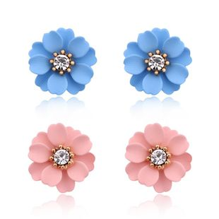 Explosive models of charming personality flower earrings NHGO125129's discount tags