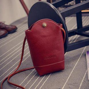 Fashion retro kettle bag bucket mobile phone bag NHXC125133's discount tags